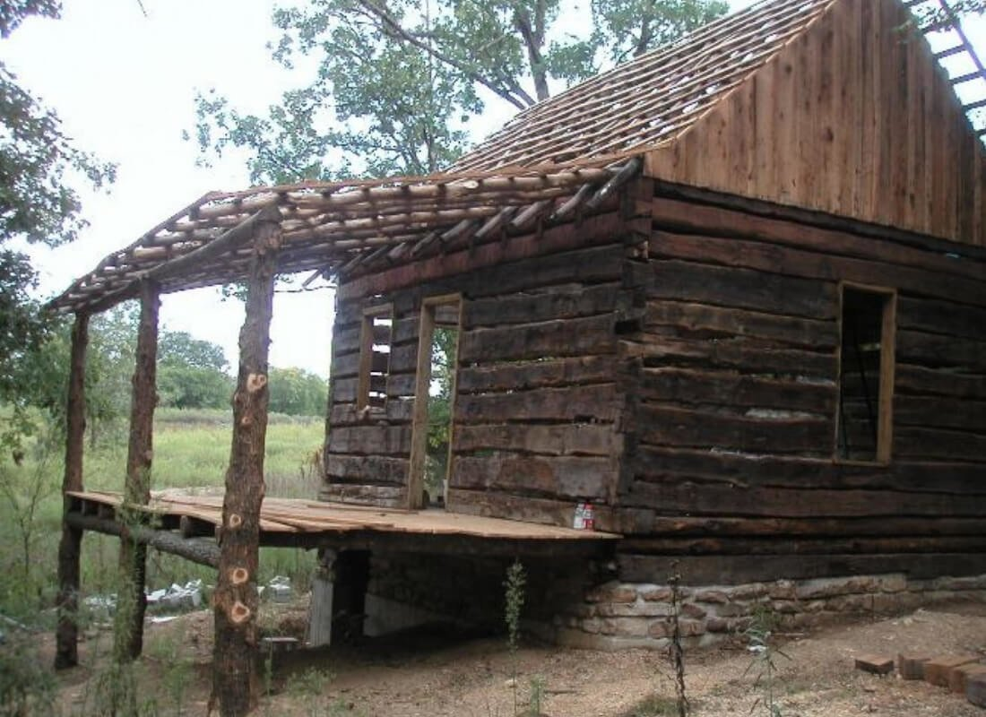 For Just 100 This Man Turned An Old Wooden Shack Into