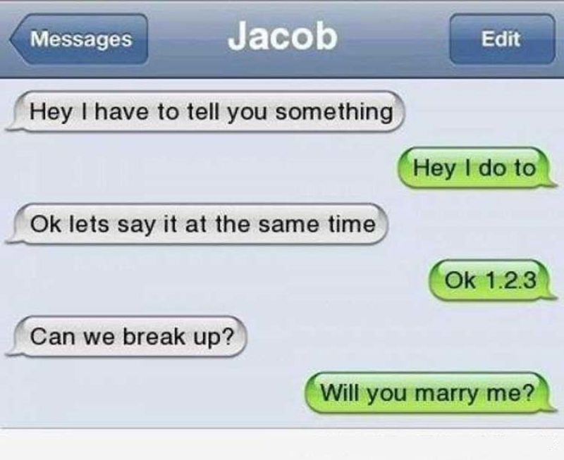 Up texts break sweet The Very